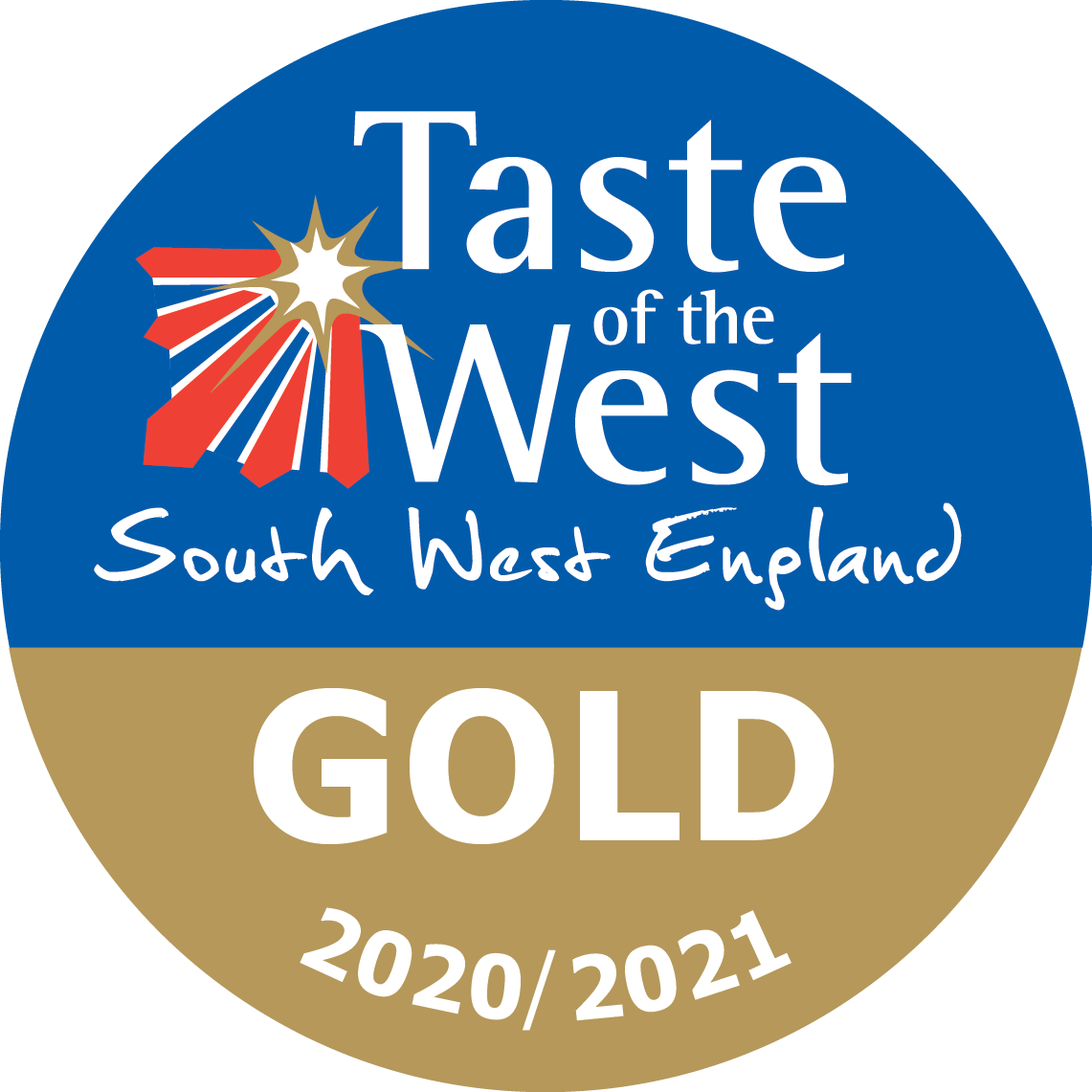 You are currently viewing We've won GOLD at the Taste of the West Awards