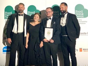 Read more about the article It's GOLD at the Food Drink Devon Awards